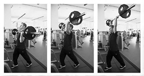 barbell overhead press 4 hour body thumb1 Occams Protocol Free Weight Option: Workout A and B with Video Demo