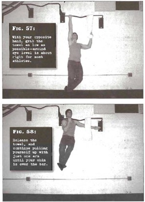 Assisted One Arm Pullup thumb Tim Ferriss Prison Day 3: Convict Conditioning   Pull Up Cheat Sheet