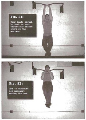 Close Pullups Convict Conditioning