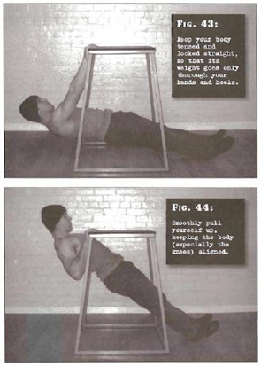 Horizontal Pulls Convict Conditioning thumb Tim Ferriss Prison Day 3: Convict Conditioning   Pull Up Cheat Sheet