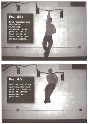 One Arm Pullups Convict Conditioning Master Step thumb Tim Ferriss Prison Day 3: Convict Conditioning   Pull Up Cheat Sheet