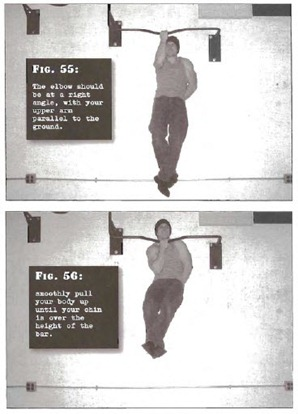 One Half One Arm Pullup Convict Conditioning thumb Tim Ferriss Prison Day 3: Convict Conditioning   Pull Up Cheat Sheet