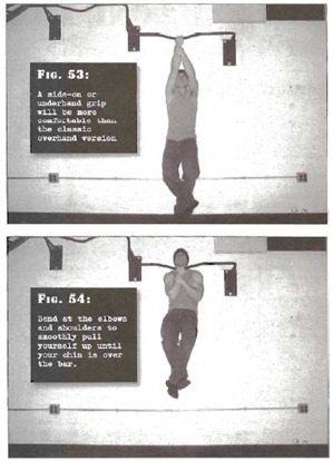 Uneven Pullups Convict Conditioning thumb Tim Ferriss Prison Day 3: Convict Conditioning   Pull Up Cheat Sheet